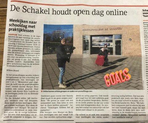 Krant Haarlems Dagblad